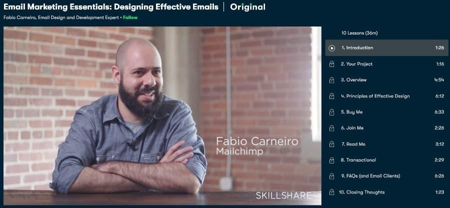 Email Marketing Essentials Designing Effective Emails (Skillshare)