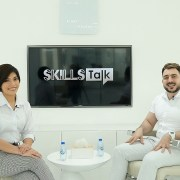 Senior Barber Mo and Nail Technician Dianne at SKILLS Talk