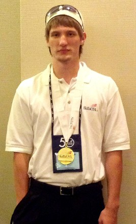 Mackenzie Stephens won the gold medal for the Postsecondary Internetworking Competition at SkillsUSA's National Conference!