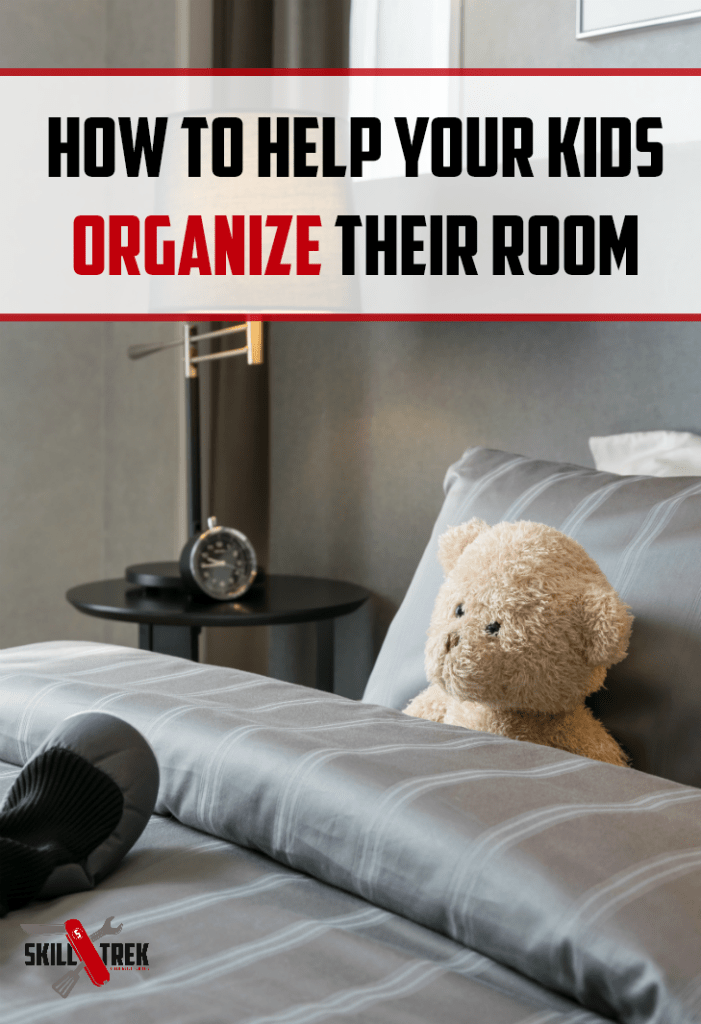 Is your child's room a mess? Learn how to help your kids organize their rooms with these simple steps.