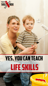 Have you ever felt inadequate when it comes to teaching your children life skills? Maybe you wasn't taught so you think you can't teach your children life skills. Guess what? You can!
