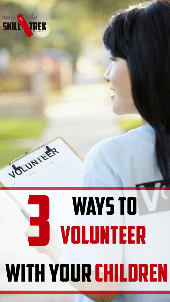 Are you looking for ways to make a difference in your community? Try volunteering! Here are three ways to volunteer with your children.