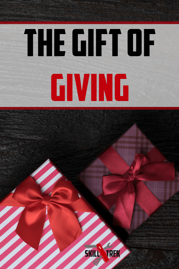 Gift giving is more than presents. When our children learn life skills, they are better equipped to give of themselves. This is just one of the 12 skills of Christmas!