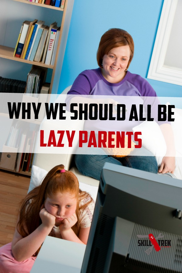 Lazy parents raise better kids. Is this thought true? Let's dive in and found out the benefits of being a lazy parent and how you can get started with lazy parenting today!