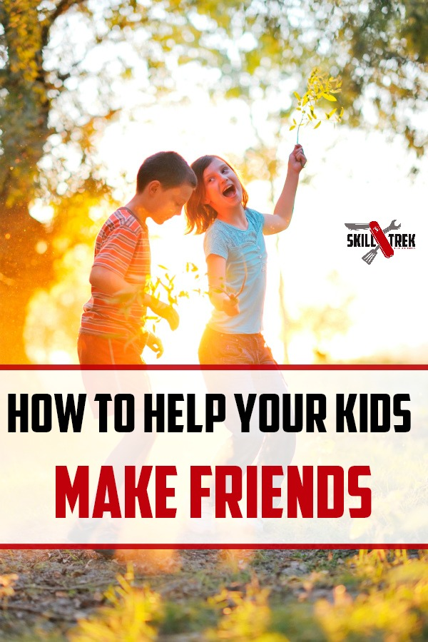 Do your kids struggle with making friends? Here are 5 tips to help your child make friendships that will last!