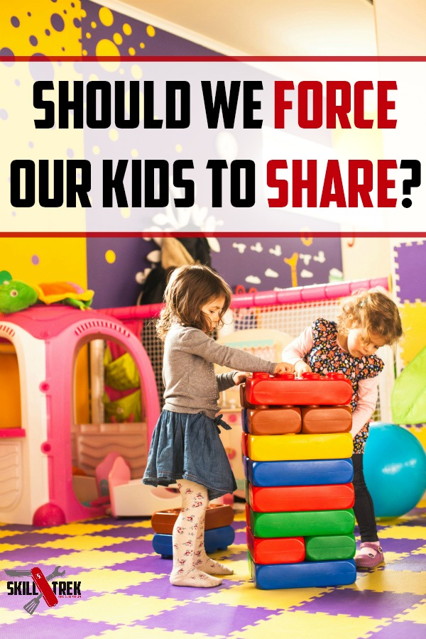 Should you force your kids to share? We are talking about times when it could be a good idea, and others when it may not be a good idea.
