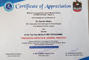 2016 Lifestyle Skin Diseases CME Talk by DR Hanish Babu MD