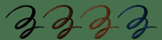 フローフシ/モテライナー リキッドのカラーバリエーション