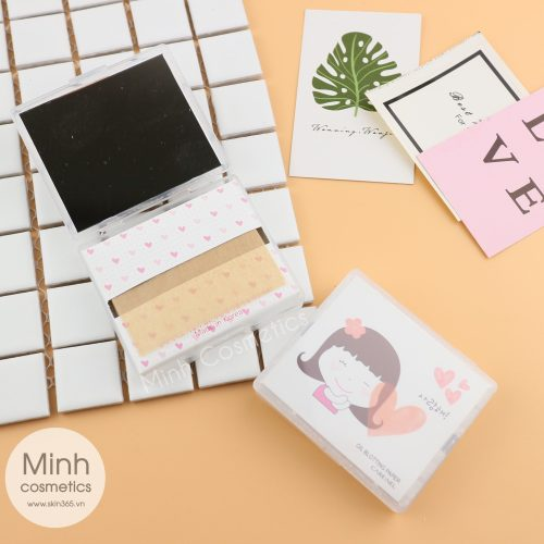 Giấy Thấm Dầu Care:nel Oil Blotting Paper