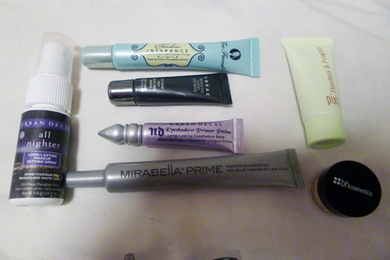 My Primers and Setting Spray