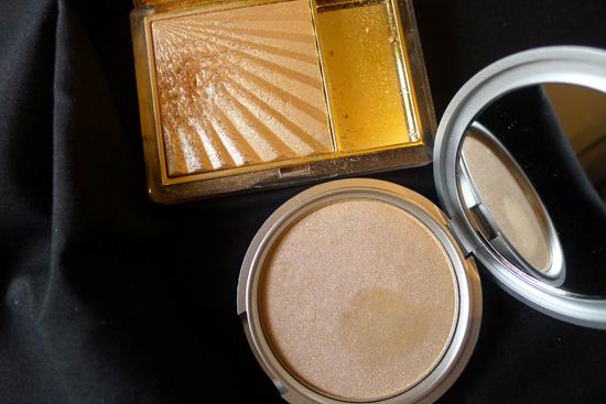 theBalm Mary-Lou Manizer  - Highlighter, Shadow, & Shimmer & Estee Lauder Heat Wave Gelée