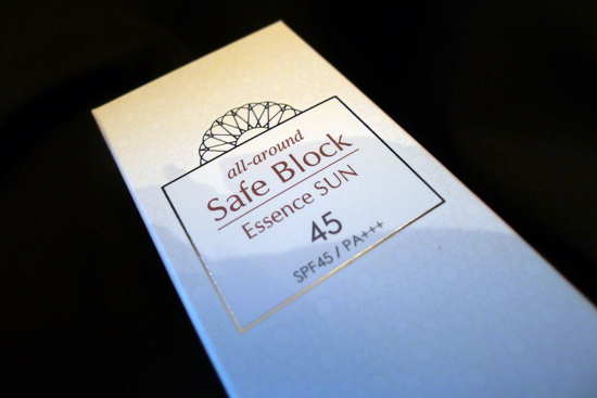 Missha All-Around Safe Block Essence Sun cream SPF 45 / P+++