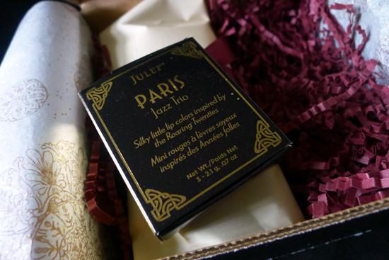 May 2013 Julep Maven Box Classic with a Twist - Paris Jazz Trio Lipsticks