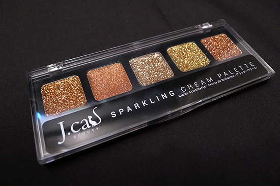 June 2013 Ipsy Glam Bag - J.cat Beauty Spakling Cream Palette in SCP107