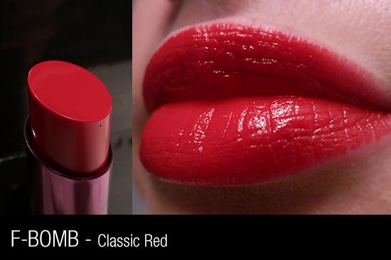Urban Decay Revolution Lipstick - F-Bomb Swatch