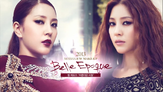 Missha Belle Epoque Fall Winter 2013