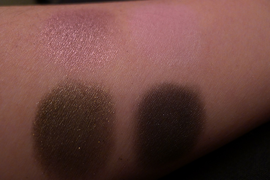 Urban Decay Vice 2 Palette Coax, X Rated, Stash, Poison Swatches