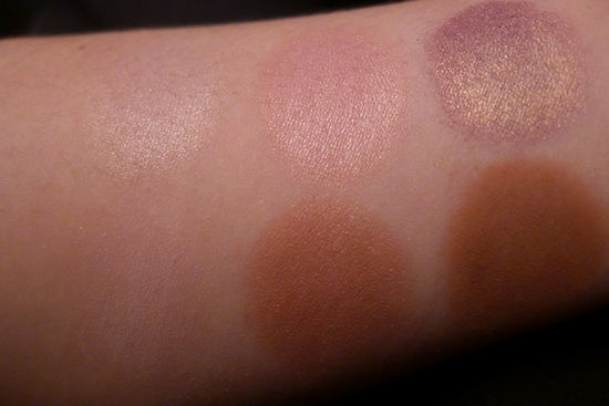 Laura Mercier Artist's Palette for Eyes Swatches