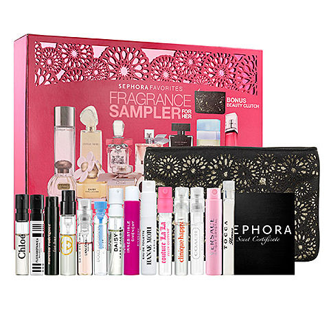 1.Sephora Fragrance Sampler for Her ($65)