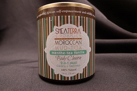 Shea Terra Organics Moroccan Mud-Tox Menthe-Tea Vanilla Body Cleanse