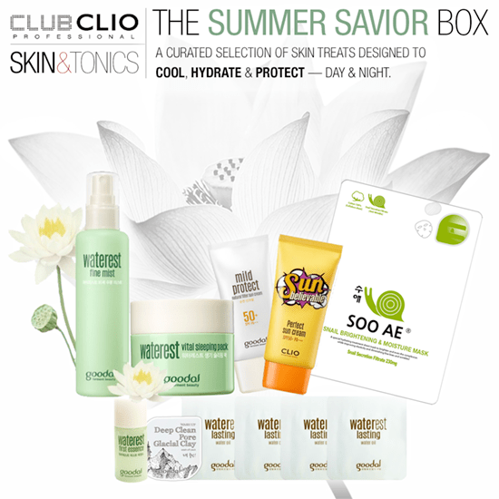 Skin & Tonics Clio Summer Savior Box