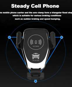 2019 Amazon Hot Sell Car Wireless Charger 3 Wireless Car Charger