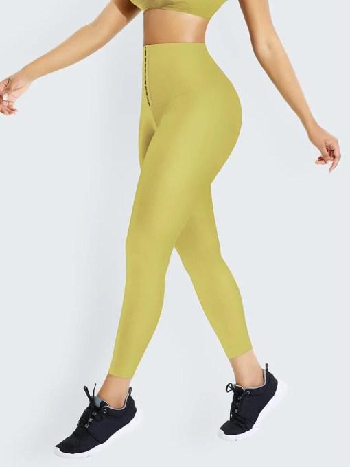 MT200368 YE1 5 Melting Tummy Control Shape Leggings High Waist