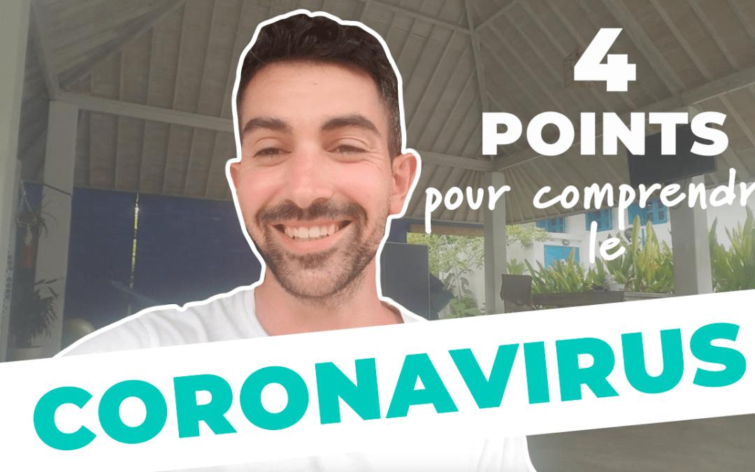 Coronavirus – 4 points pour comprendre