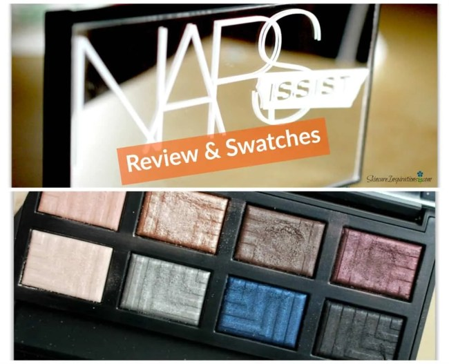 NARS Narsissist Palette swatches review