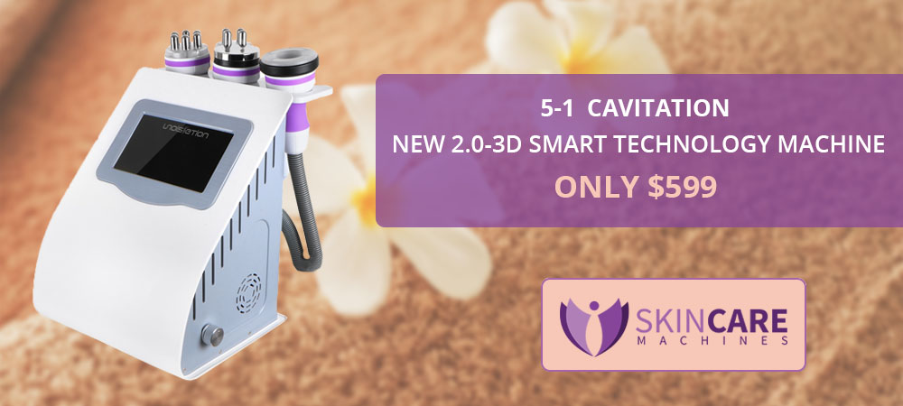 5-1 Ultrasonic 2.0 Unoisetion 3D Smart Technology Cavitation Machine