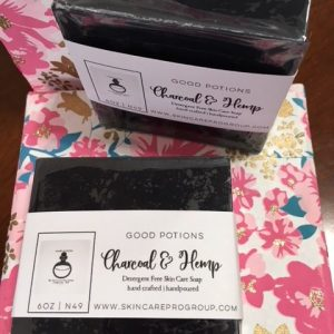 Charcoal & Hemp Oil Skin Care Soaps