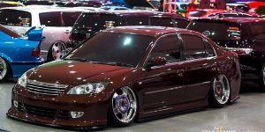 Honda Civic ES Cinnamon ikut kontes