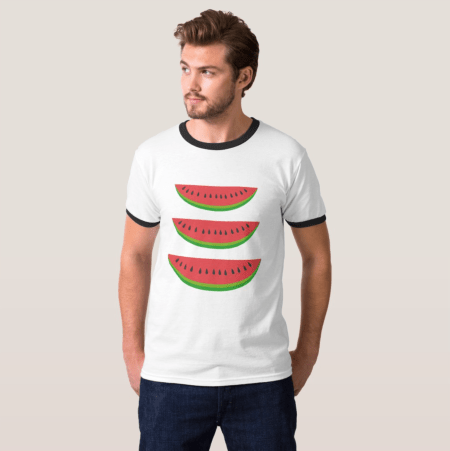 water melon tshirt