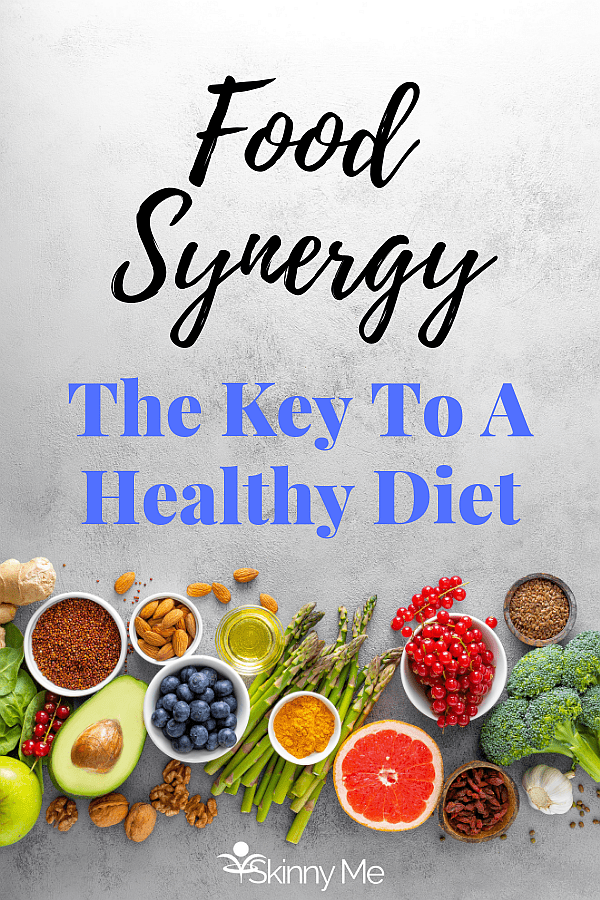 Research shows that health benefits of certain foods aren't likely to come from a single nutrient but rather combinations of compounds that work better together than apart. Food synergy, rather than the biological activity of a few key nutrients, is the real reason that certain diets appear to lower the risks of heart disease and other health problems. #foodsynergy #nutrition