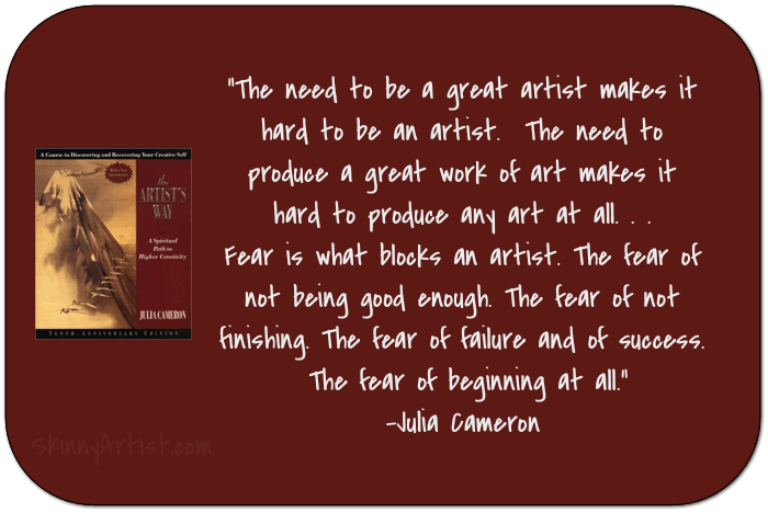 The Artists Way by Julia Cameron Book Quotes
