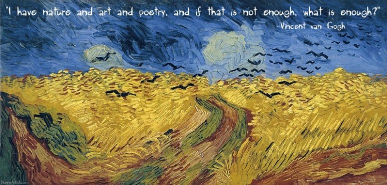 What is enough Van Gogh