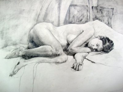 Drawing by Artist Trevor Jones