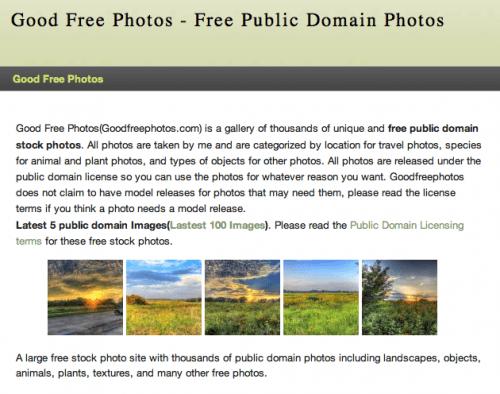 goodfreephotos