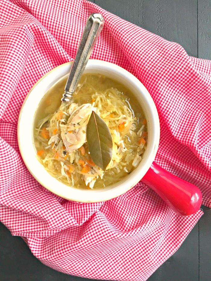 Chicken Noodle-less Soup