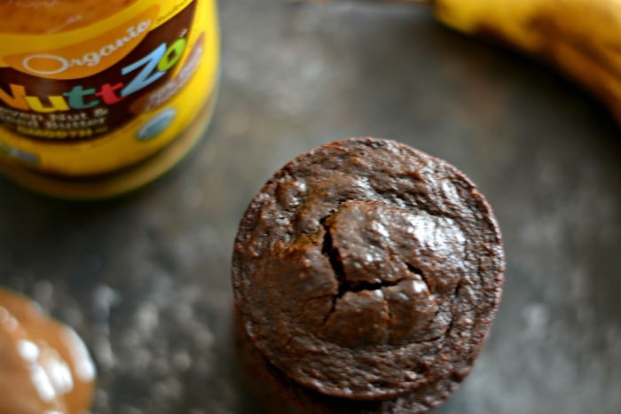 Double Chocolate Super Seed Muffins