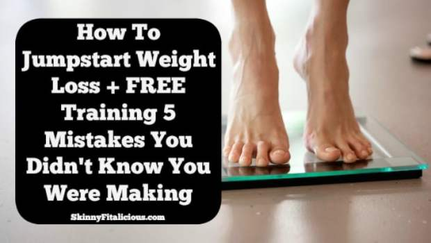Are you trying to lose weight? Here's how to Jump Start Weight Loss plus a FREE training on 5 weight loss mistakes you didn't know you were making!