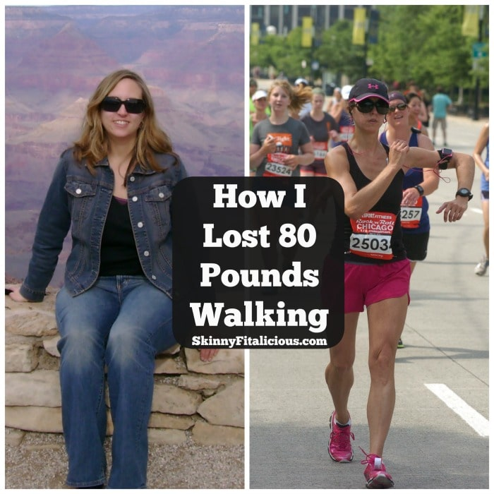 Walking For Weight Loss, How I Lost 80 Pounds Walking