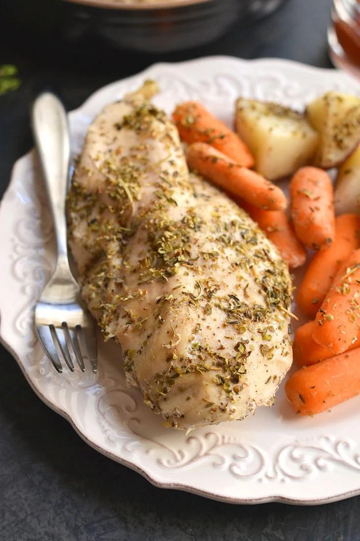 Crockpot Italian Chicken Amp Potatoes Gf Paleo Skinny Fitalicious