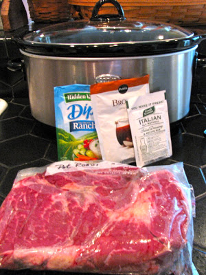 Savory Crock Pot Beef Pot Roast