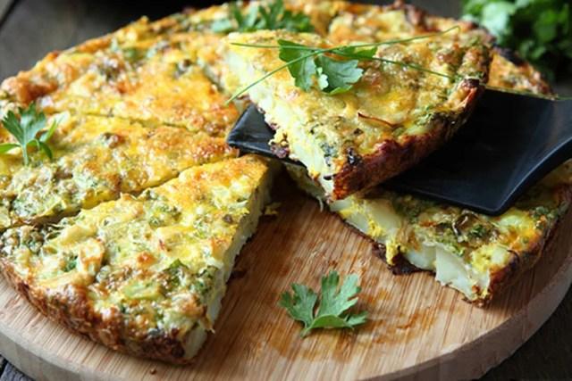 crustless vegetable quiche