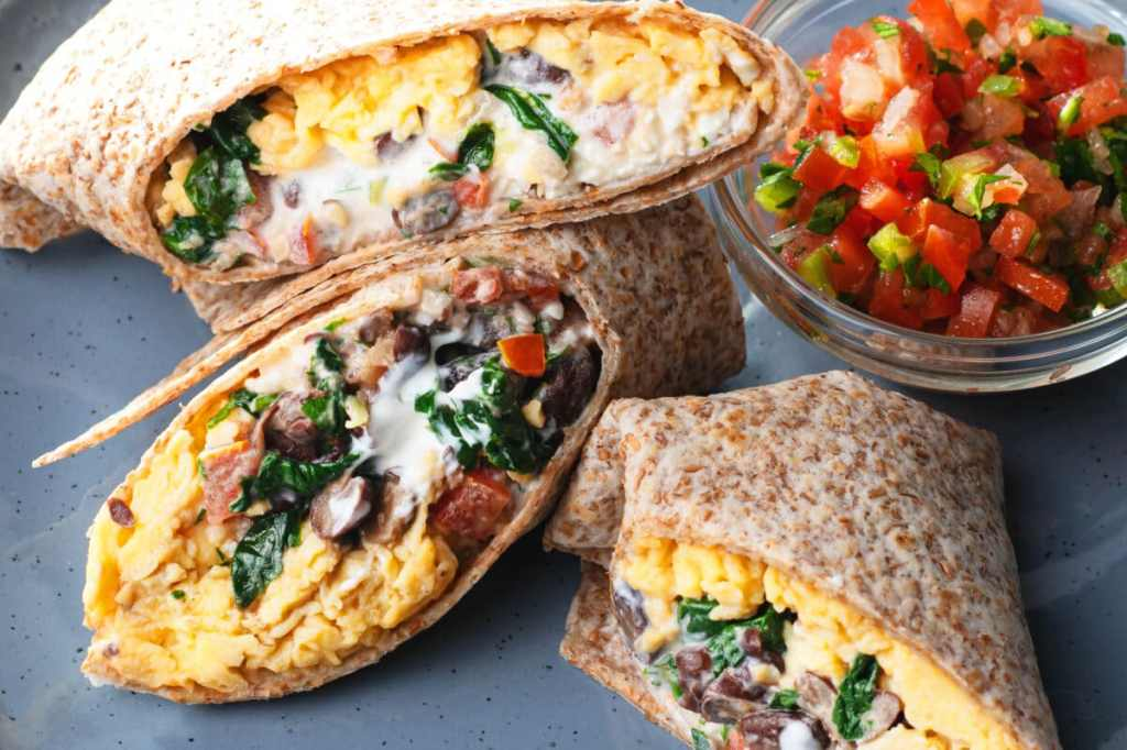 Our southwestern protein breakfast burrito recipe is one for the books!