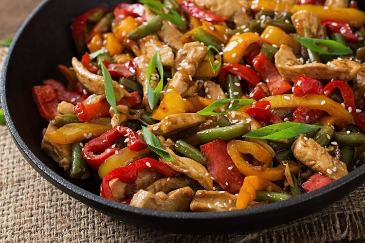 Stir Fry Sesame Chicken