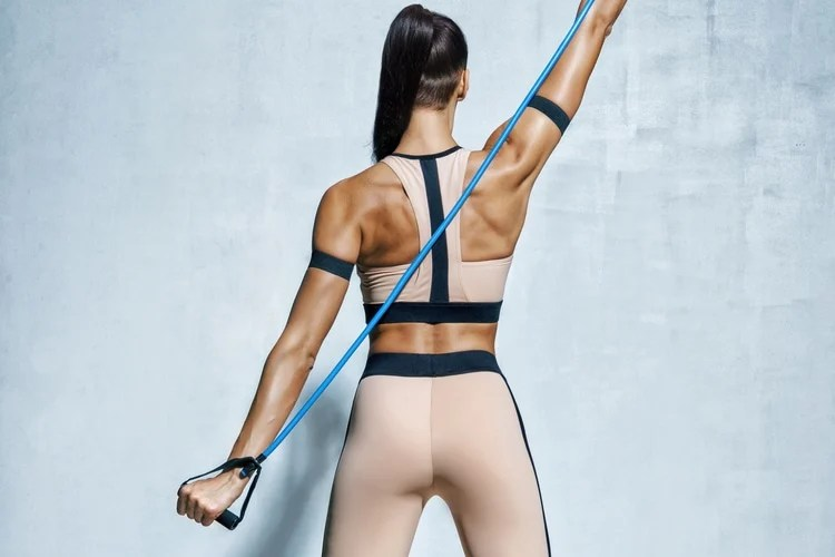By consistently performing resistance band exercises, you can build and tone your muscles.