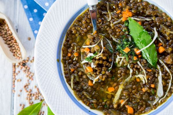 Lentil Soup with Cabbage