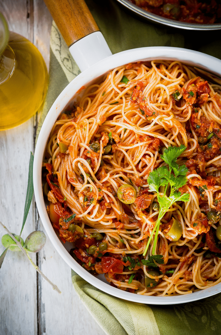 If you fancy some pasta, make this angel hair pasta.